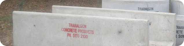 Traralgon Concrete Products Feedpad