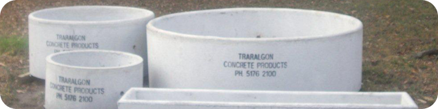 Traralgon Concrete Products Troughs